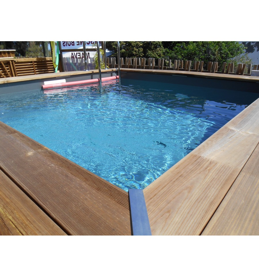 Piscine en bois carree 28 images piscine hors sol for Piscine coque carree 3x3
