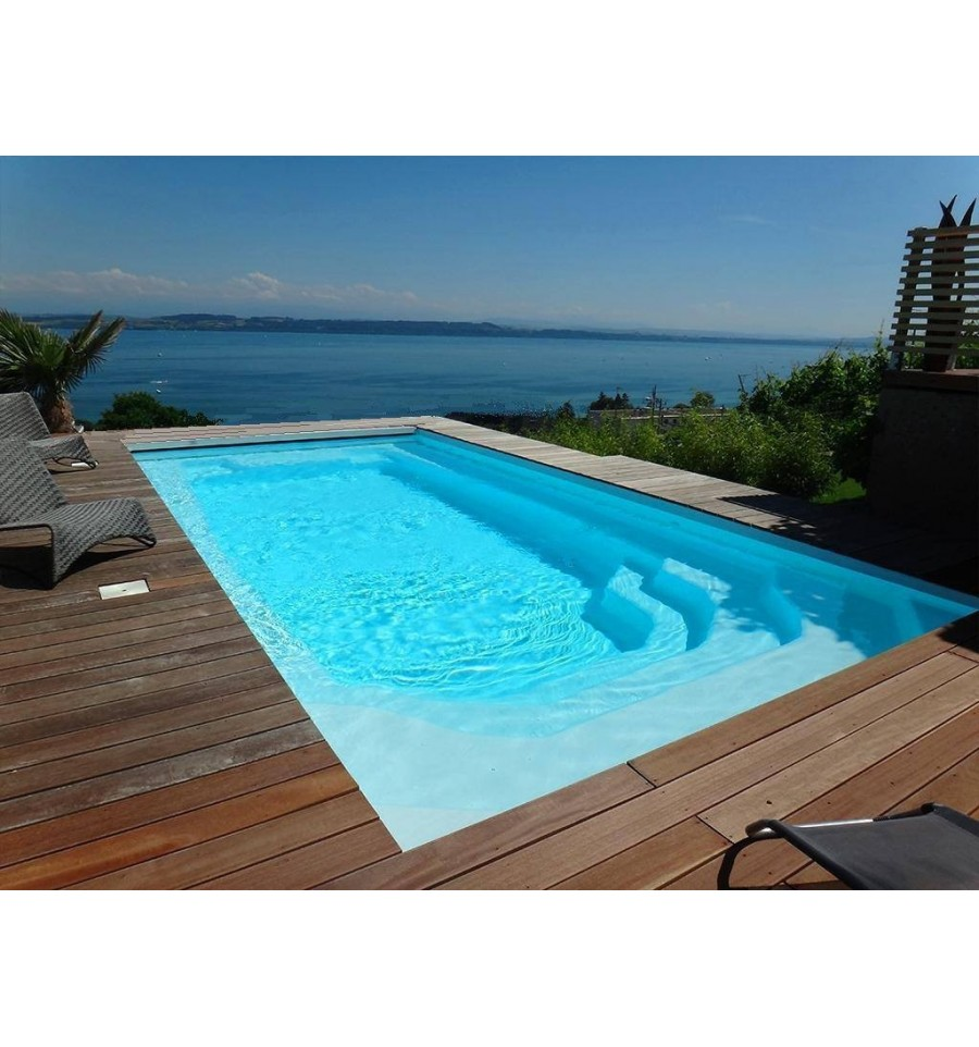 piscine coque aqua 8 pour une mise en oeuvre simple et rapide. Black Bedroom Furniture Sets. Home Design Ideas