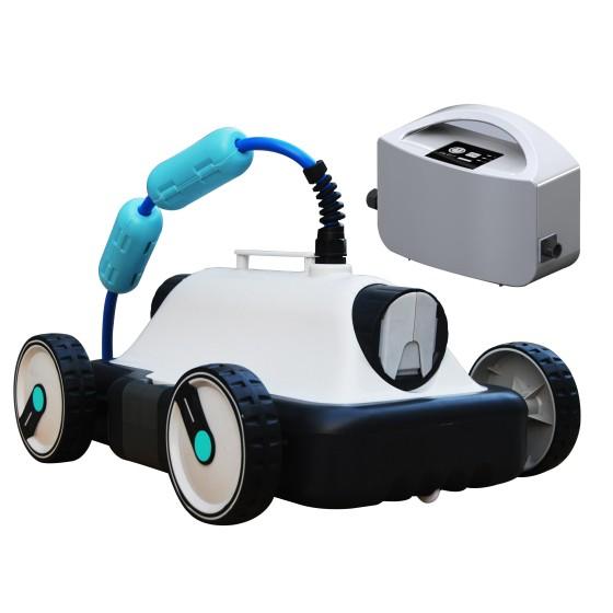 Robot électrique SARTOR pour fond piscine hors sol et auto portante
