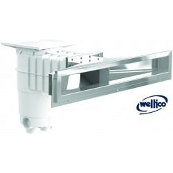 Skimmer Inox large meurtrière A800 WELTICO
