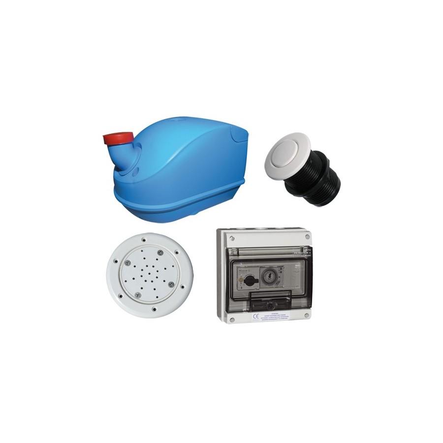 Kit injecteur d'air avec blower pour piscine