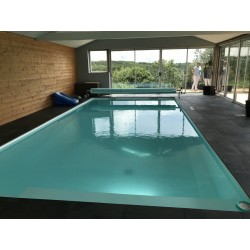 Kit de construction de piscine sur mesure 6x3x1.2 fond plat