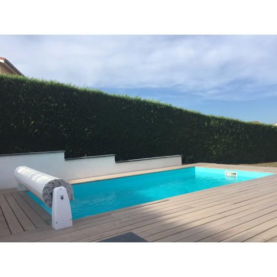 Volet Hors sol sur mesure pour piscine 6x3 sans escalier xtérieur
