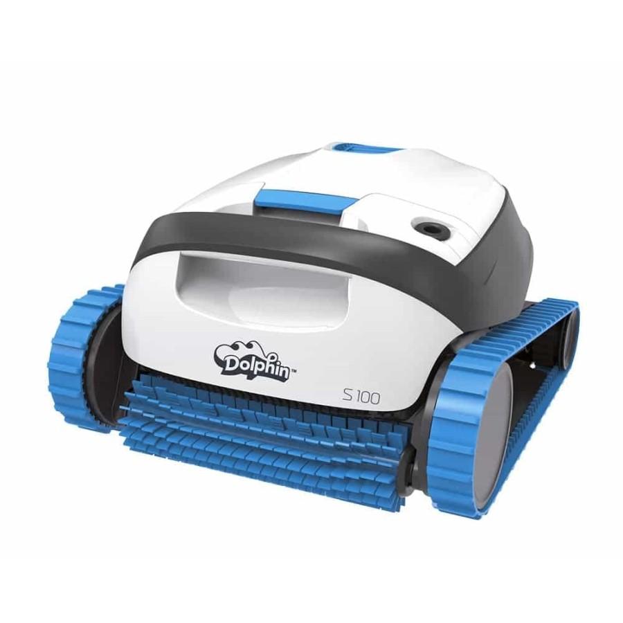 Robot électrique DOLPHIN S100 Maytronics pour fond et parois de piscine