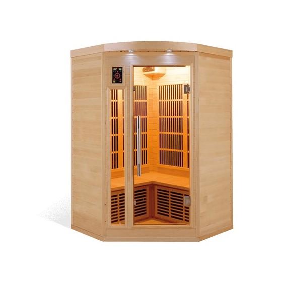 Sauna infrarouge carbone Apollon 1 à 6 places