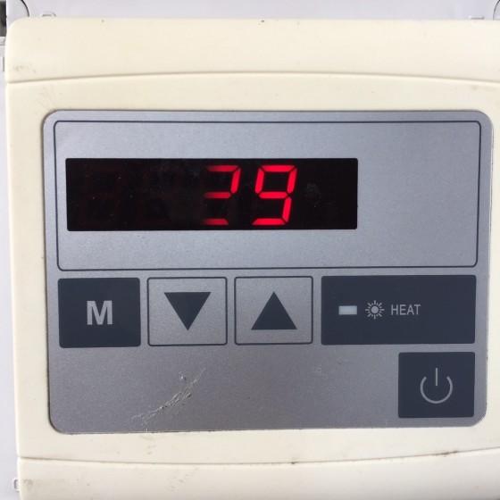 Clavier de commande pour pompe à chaleur PURE