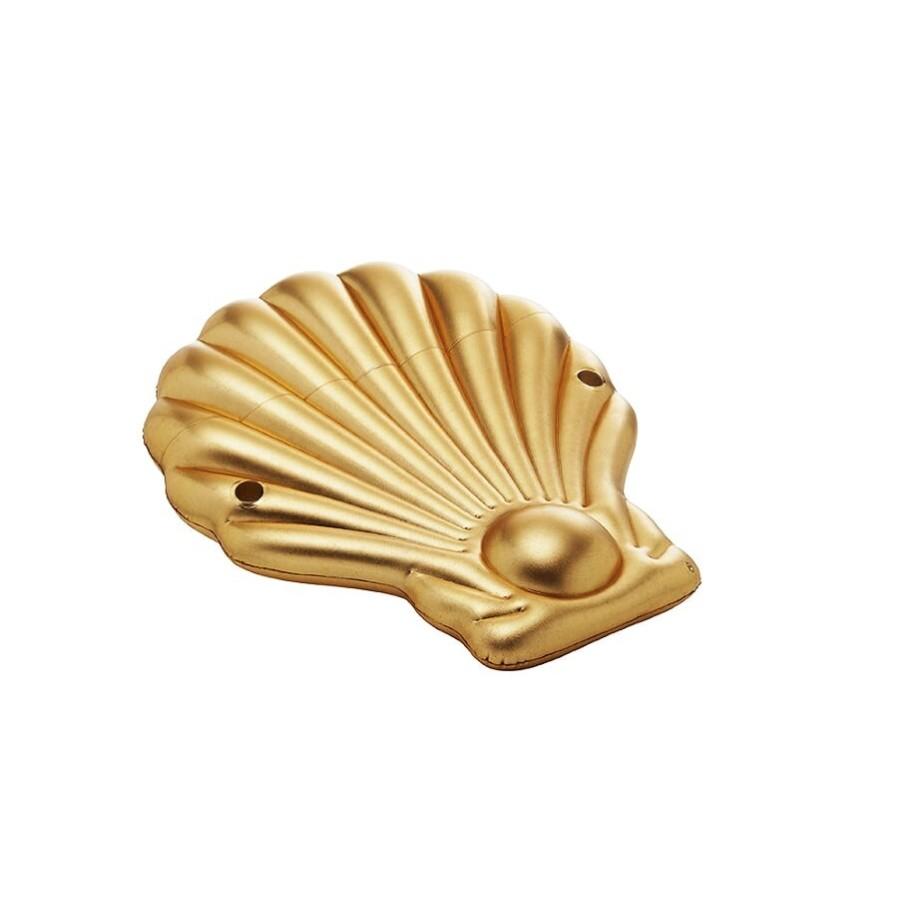 Coquillage gonflable GOLD pour détente autour de la piscine