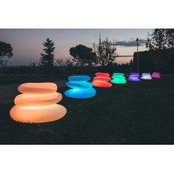 Décoration lumineuse sculpture EDEN top design pour l'extérieur