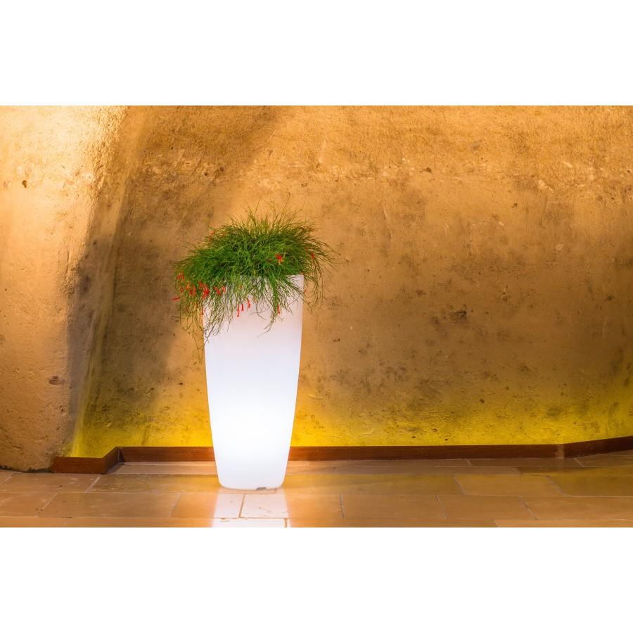 Pot lumineux STILO design pour l'extérieur