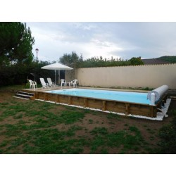 Piscine bois CITY MEDIUM rectangle