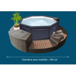 Ensemble mobilier Spa VITA