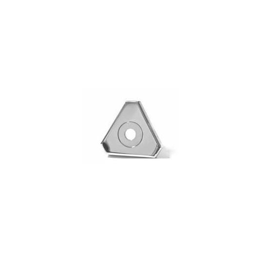Jet orientable triangulaire à rotule INOX pour buse WELTICO DESIGN