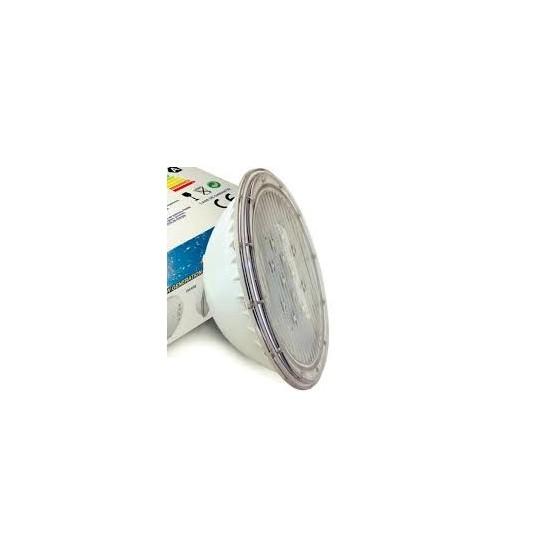 Lampe blanche 12 leds adaptable a tout type de projecteur standard de piscine