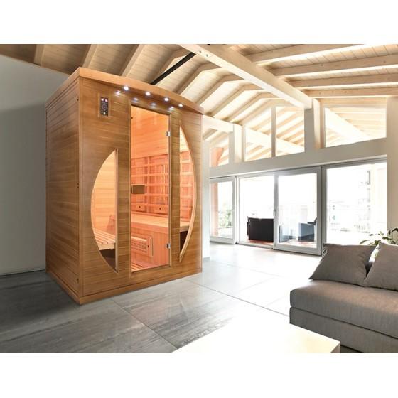 Sauna Infrarouge SPECTRA 2 à 4 places France Sauna