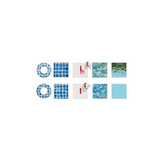 Liner armé VERNI 150/100 ALKORPLAN pour piscine test tache