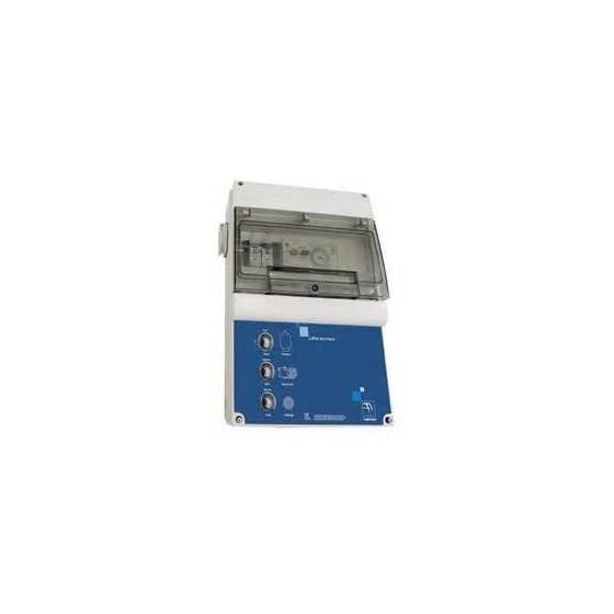 Tableau de commande LUXE ASTRAL 4 à 6 ampères pour 1 projecteur et pompe de filtration