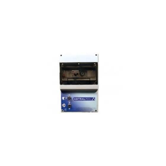 Tableau de commande LUXE ASTRAL 4 à 6 ampères pour pompe de filtration, 1 projecteur et surpresseur