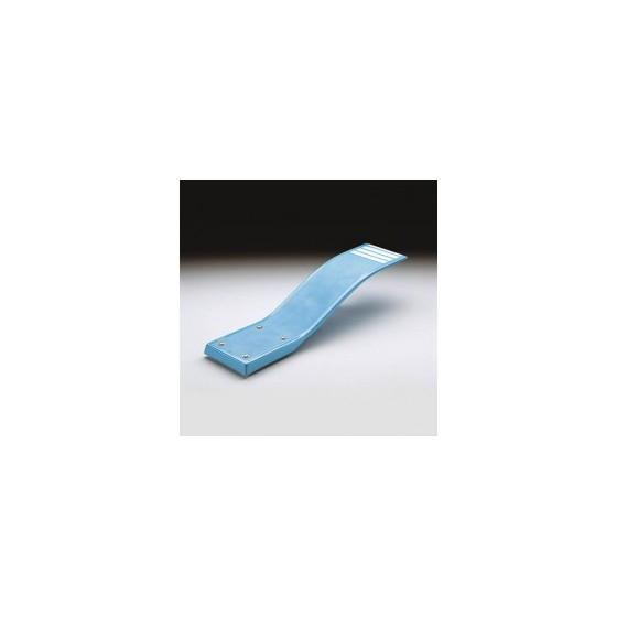 Plongeoir amovible et incurvé DELFINO pour piscine