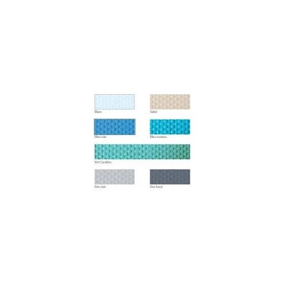 gamme couleur Liner armé 150/100 ALKORPLAN antidérapant pour piscine