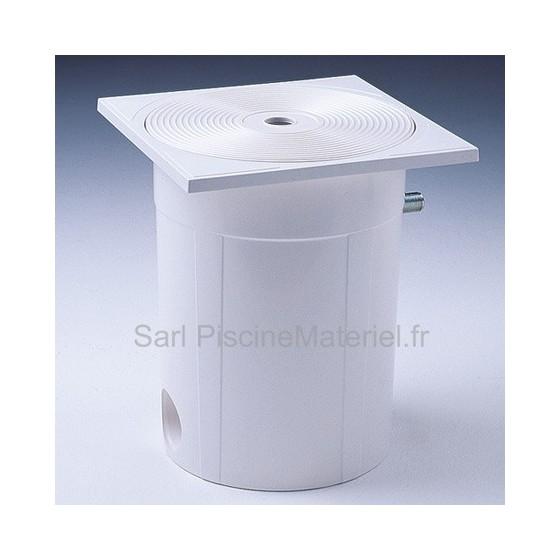 Régulateur automatique de niveau ASTRAL avec sortie latérale ou dessous pour piscine