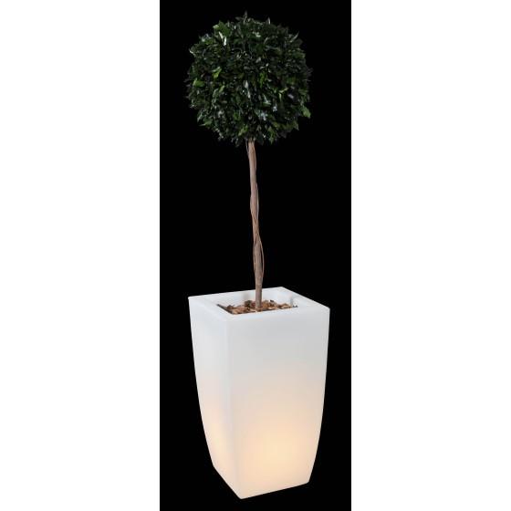 Pot lumineux CARRE pour décoration de votre extérieur