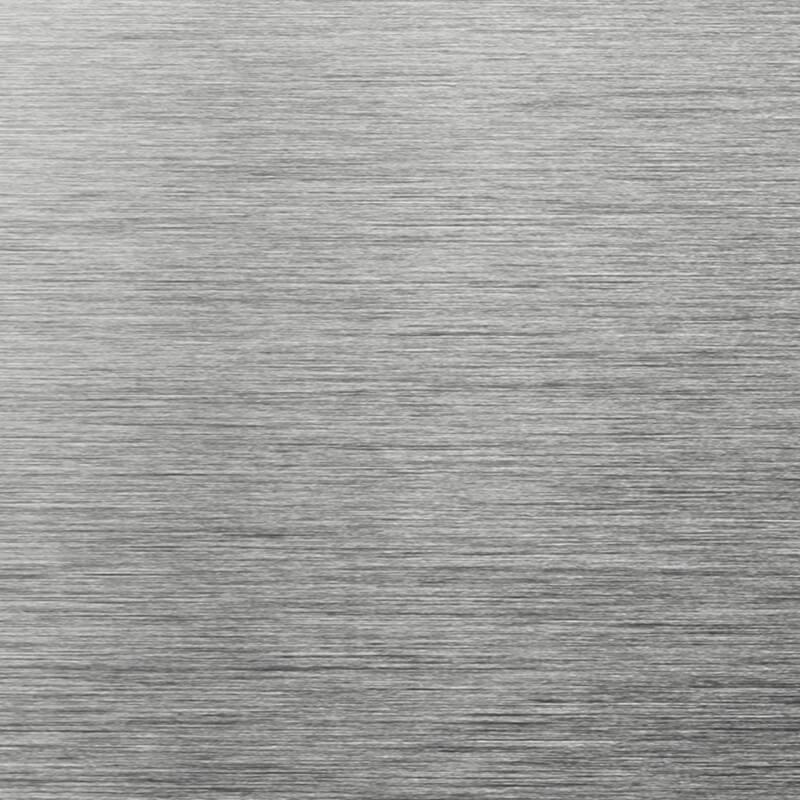Gris anthracite + aluminium brossé